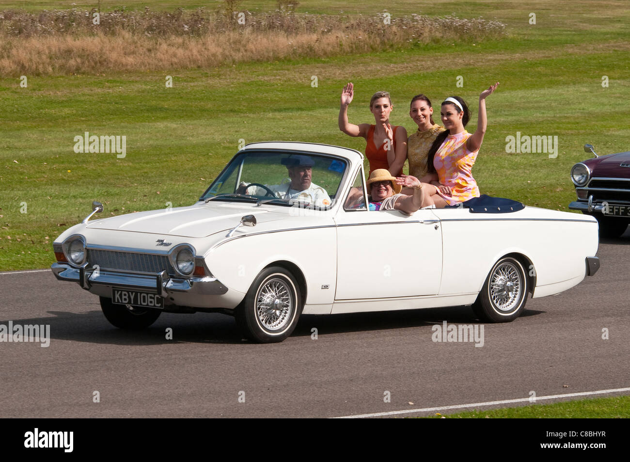 1963 Ford Corsair Quot Crayford Quot Convertible Stock Photo Royalty Free Image 39593563 Alamy