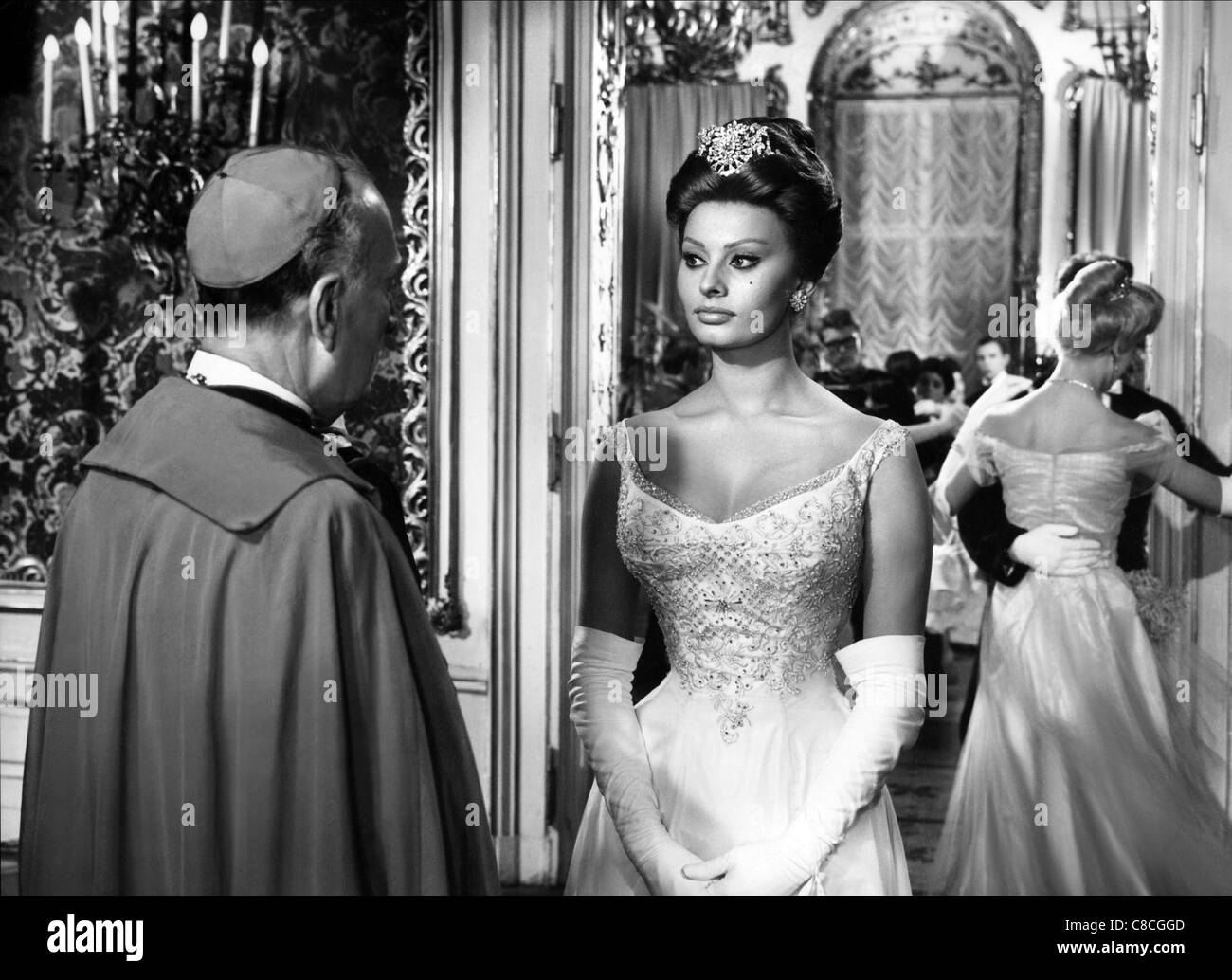 LUIGI CIMARA & SOPHIA LOREN A BREATH OF SCANDAL (1960 Stock Photo ...