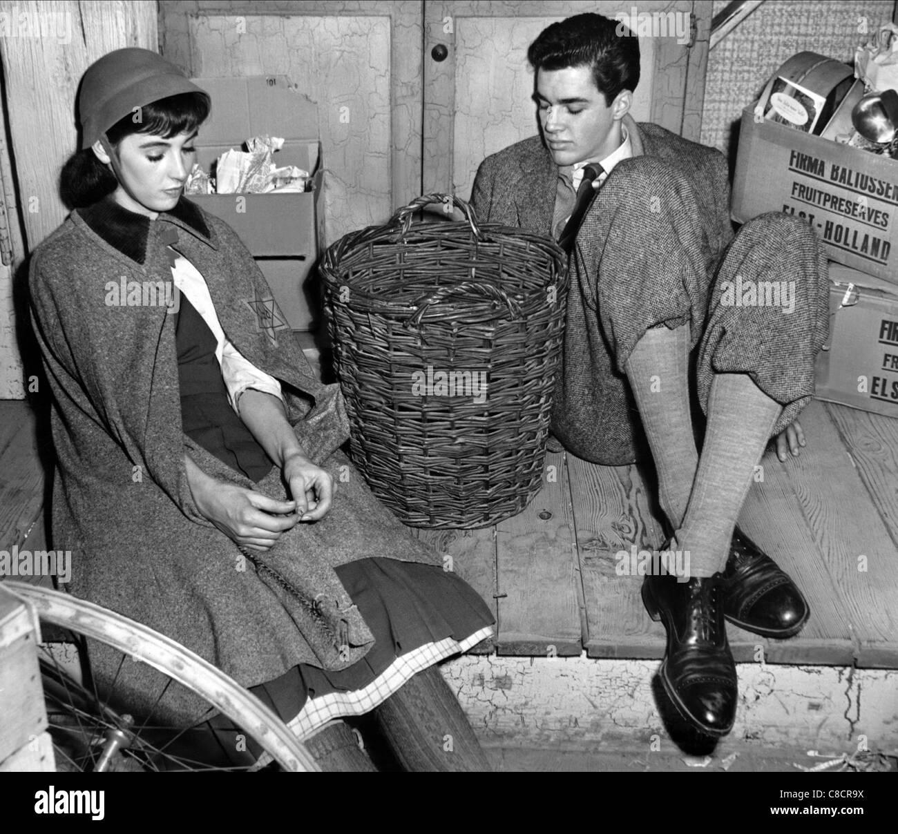 millie perkins amp richard beymer the diary of anne frank