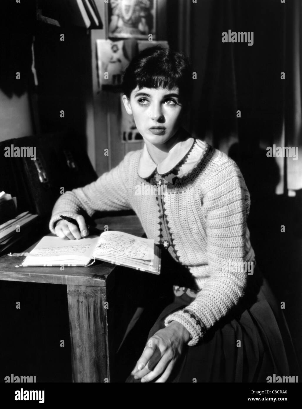 millie perkins the diary of anne frank 1959 stock photo