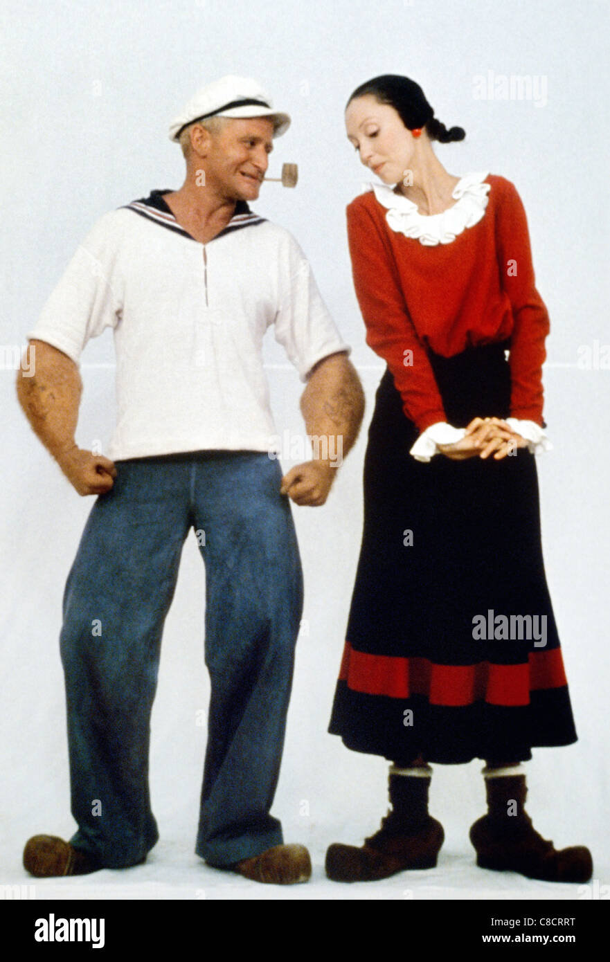 Robin Williams Popeye Movie Images