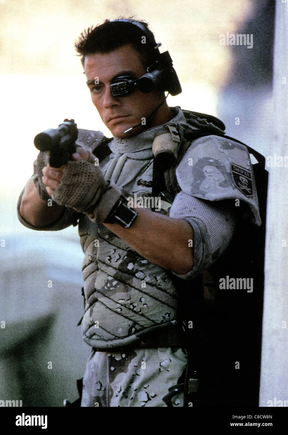 JEAN-CLAUDE VAN DAMME UNIVERSAL SOLDIER (1992 Stock Photo ...