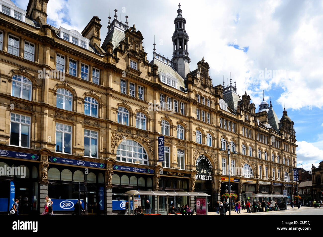 West Yorkshire United Kingdom  city pictures gallery : ... of Leeds Markets, Leeds, West Yorkshire, England, United Kingdom