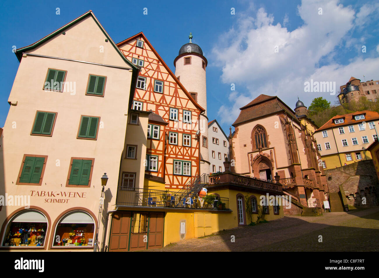 The Historic Town Of Wertheim, Baden Wurttemberg, Germany
