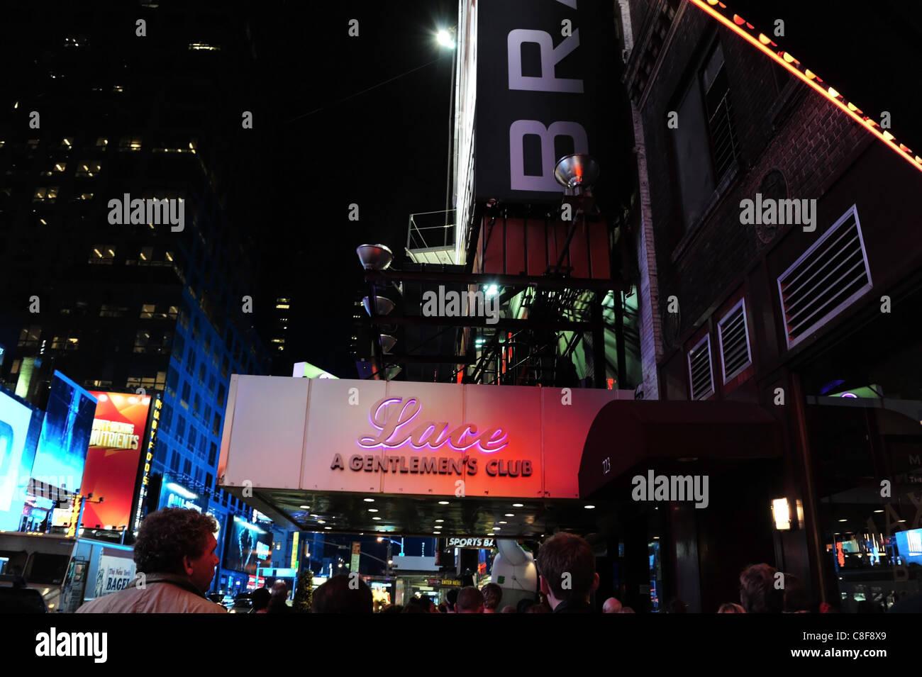 Night-time Shot Man Boy People Walking Towards Red Purple Neon ...