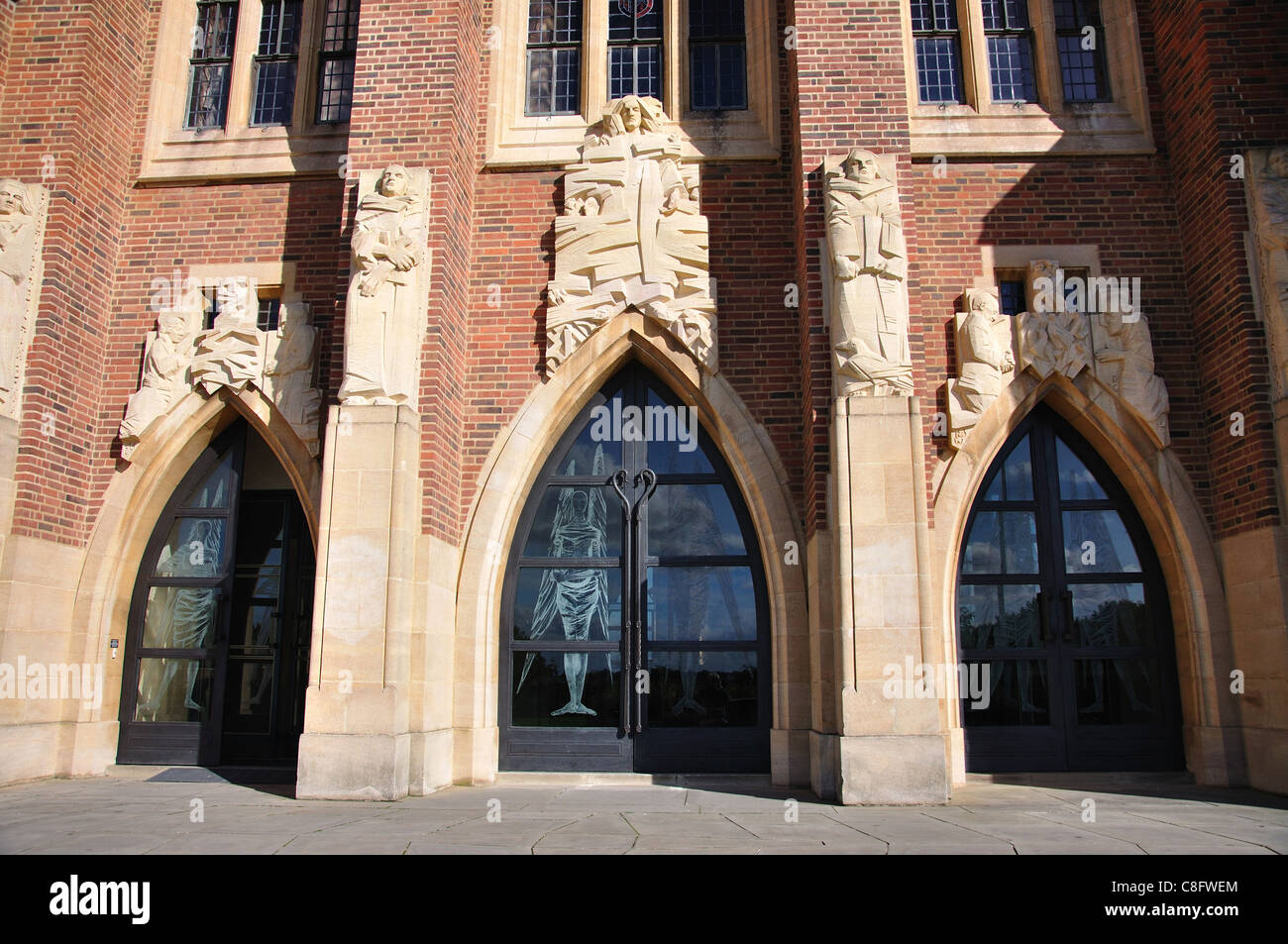 Entrance doors to Guildford Cathedral Stag Hill Guildford Surrey England United Kingdom & Entrance doors to Guildford Cathedral Stag Hill Guildford ... pezcame.com