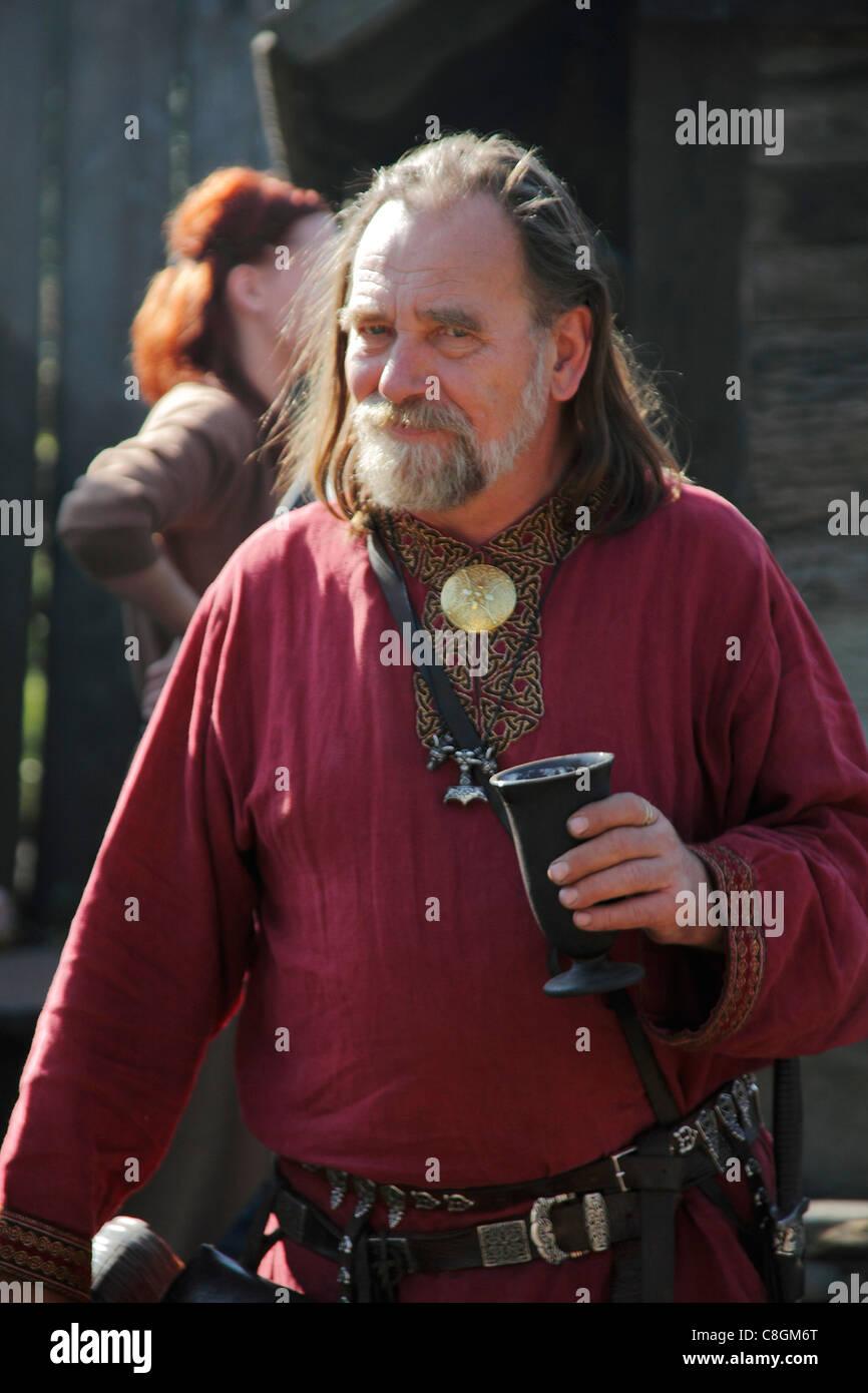 Viking Drinking Mead
