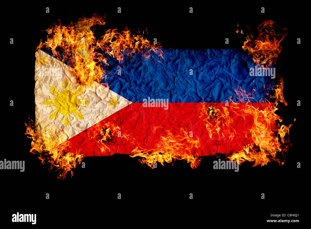 National symbols and flag of philippines stock photo 39724217 alamy national symbols and flag of philippines biocorpaavc Choice Image
