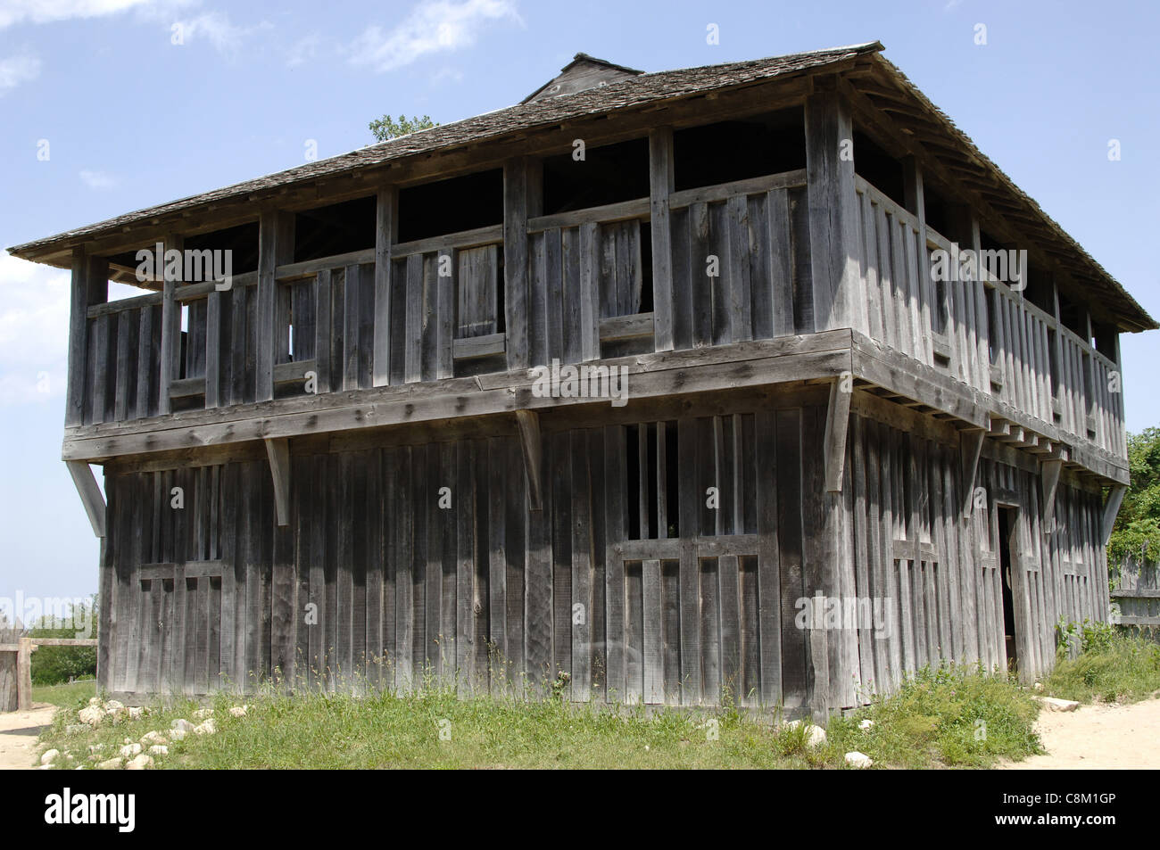 Plimoth Plantation or Historical Museum. The Fort or ...