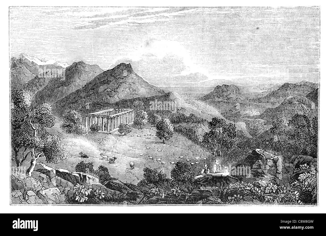 Temple of Apollo Epicurius Bassae Bassai Vassai Vasses ...