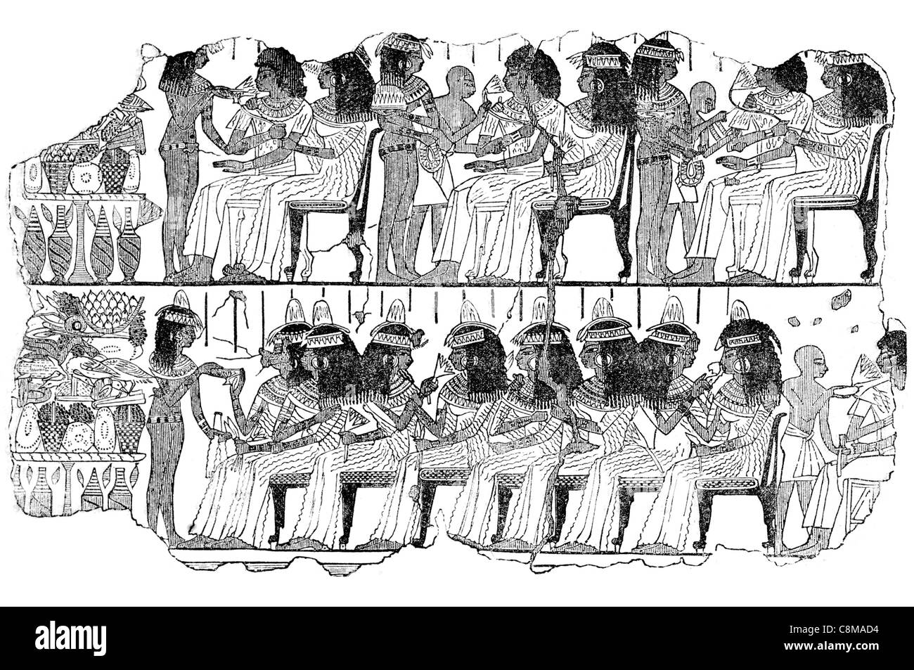 egyptian entertainment egypt antiquity british museum collection, Powerpoint templates