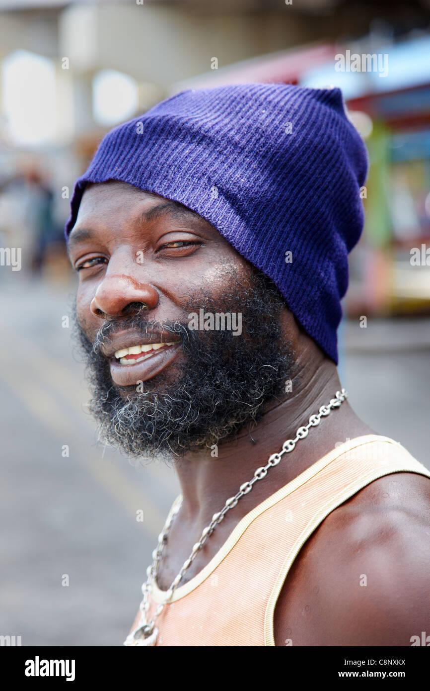 bahamian man