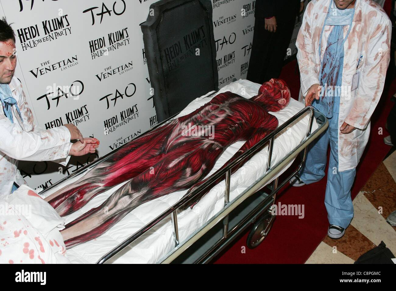 Heidi Klum in attendance for Heidi Klum Halloween Party at TAO ...