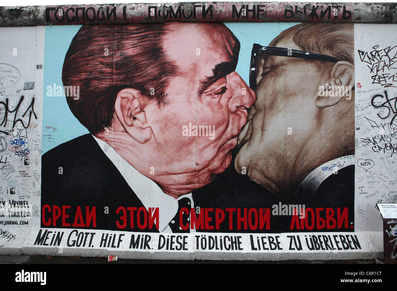 east german kiss