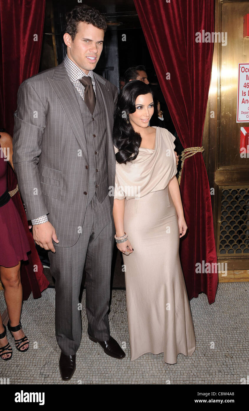 Kris Humphries Kim Kardashian In Attendance For Welcome To New York Party Newlyweds