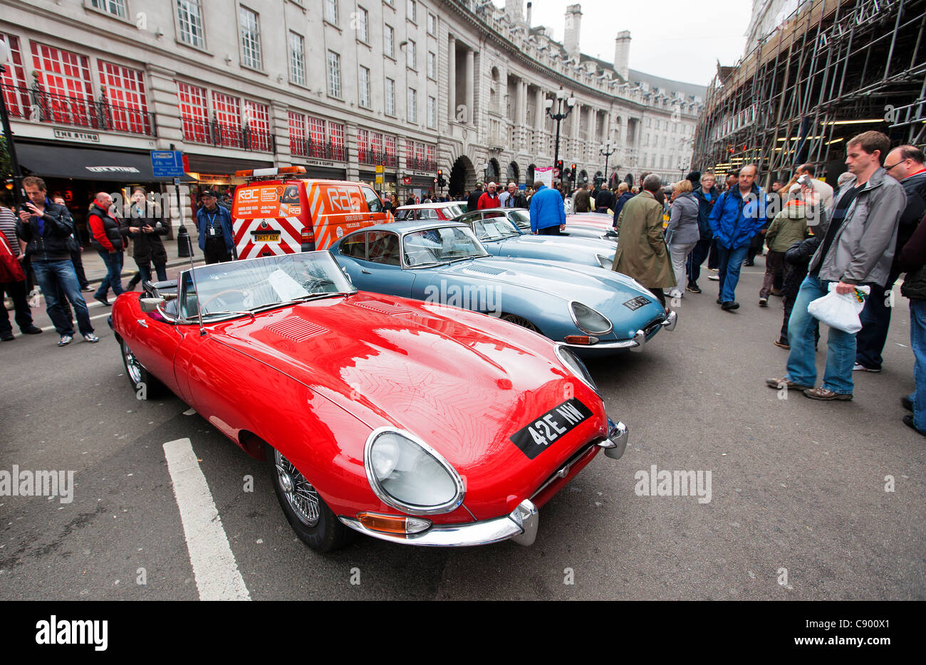 Jaguar E-Types, Minis and Vintage and Veteran cars at Regent ...