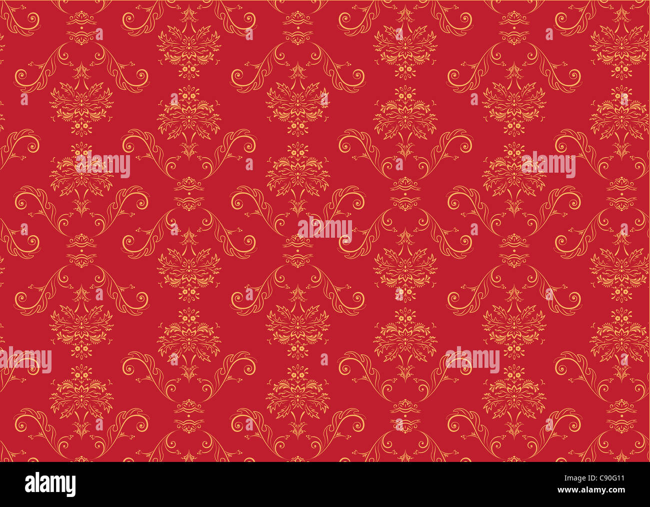 illustration of red elegant victorian retro motif wallpaper pattern stock photo royalty free. Black Bedroom Furniture Sets. Home Design Ideas