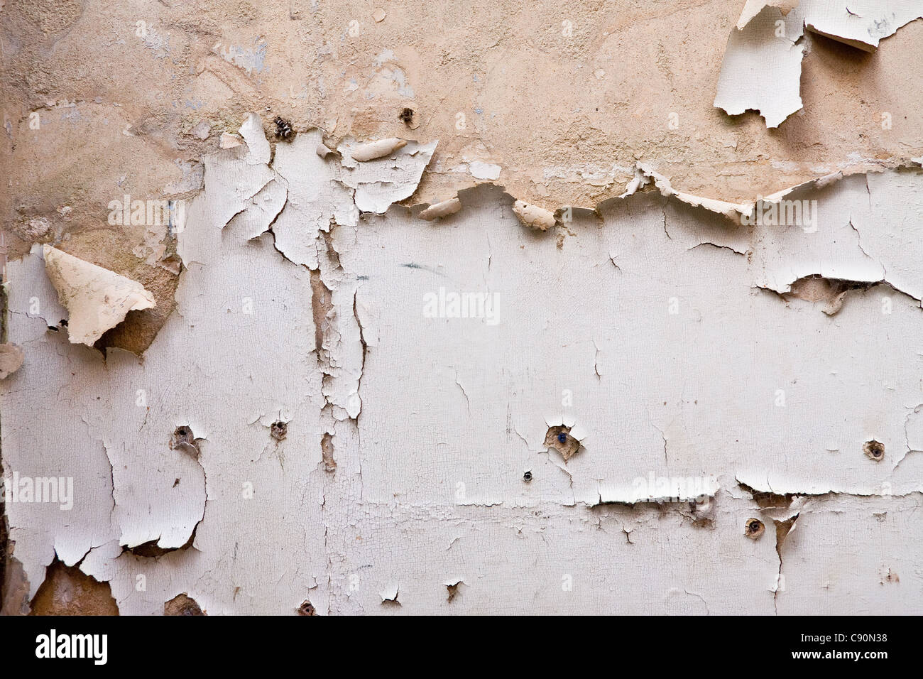how to get peeling paint off walls