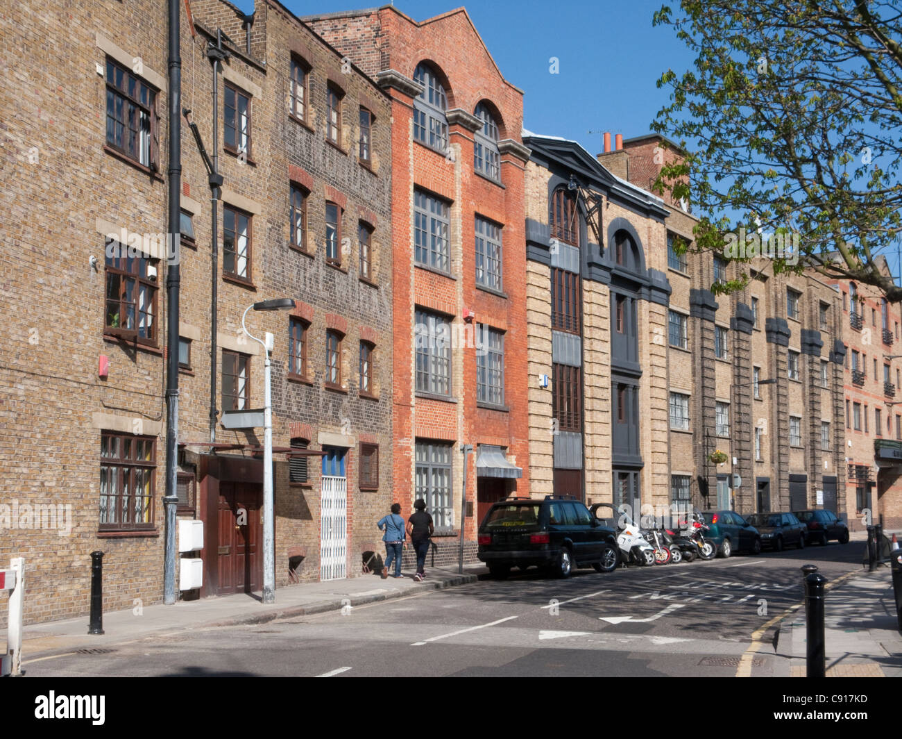 Bermondsey Street South East London Many of the warehouses in