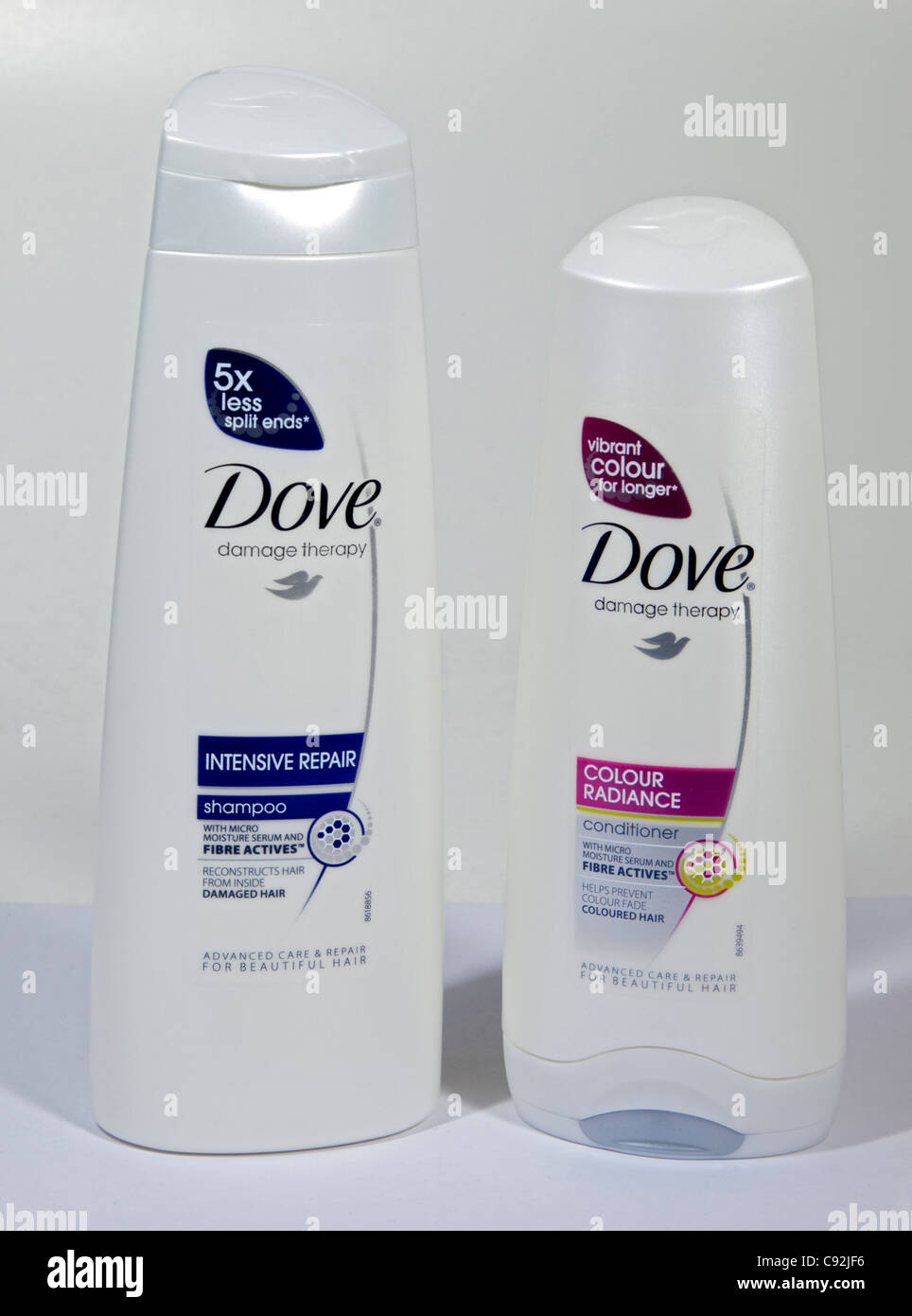 Stock Photo - Dove Shampoo and Conditioner