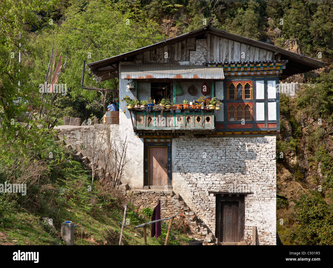 Images of bhutanese houses