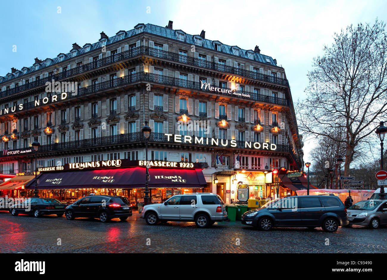 The Hotel Terminus Nord In Paris Opposite The Gare Du