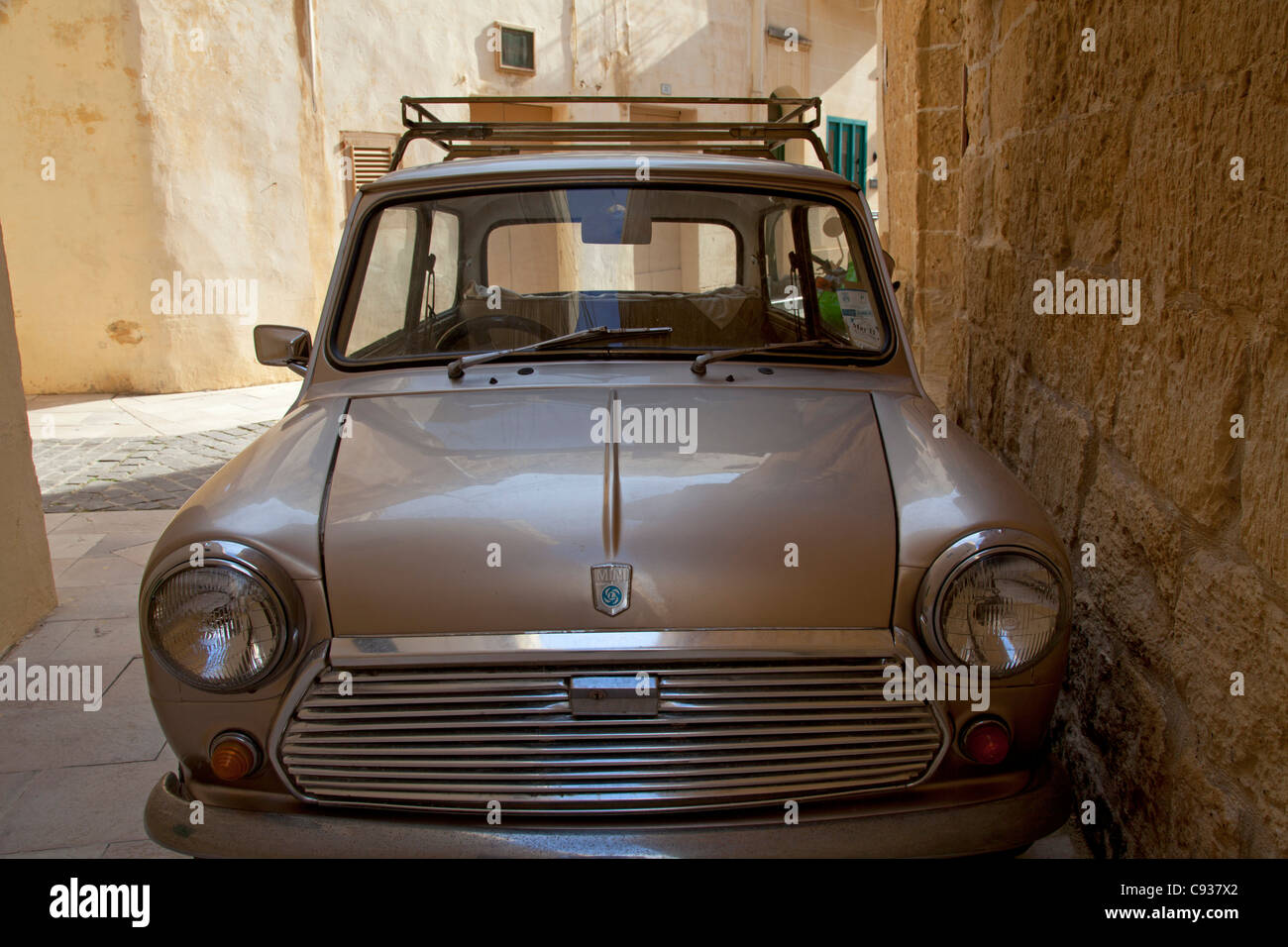Gozo  Malta  Europe  A Mini minor Dating Back To The        s In One