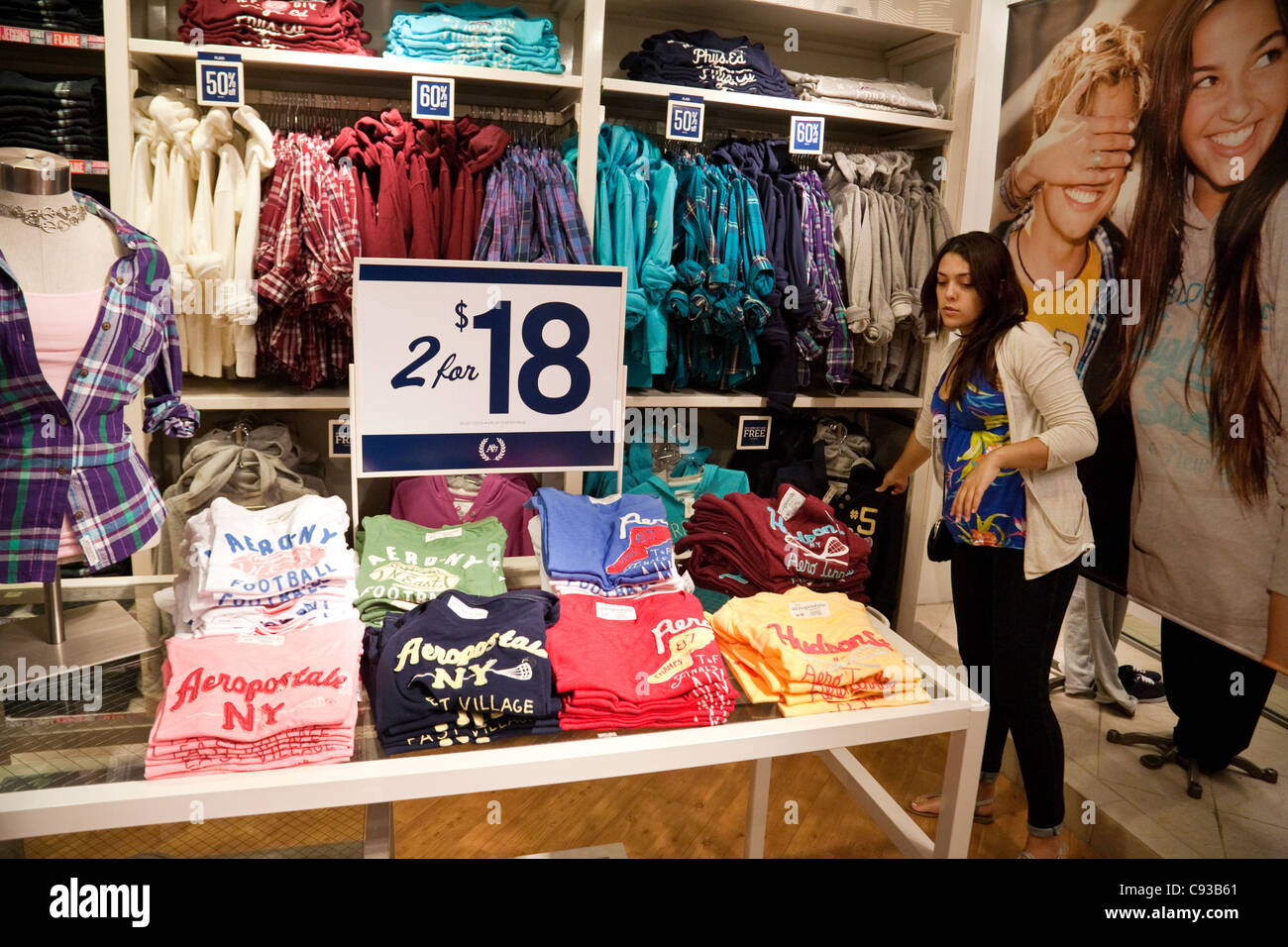 Clothing Shop Interior Teen Stock Photos & Clothing Shop Interior ...
