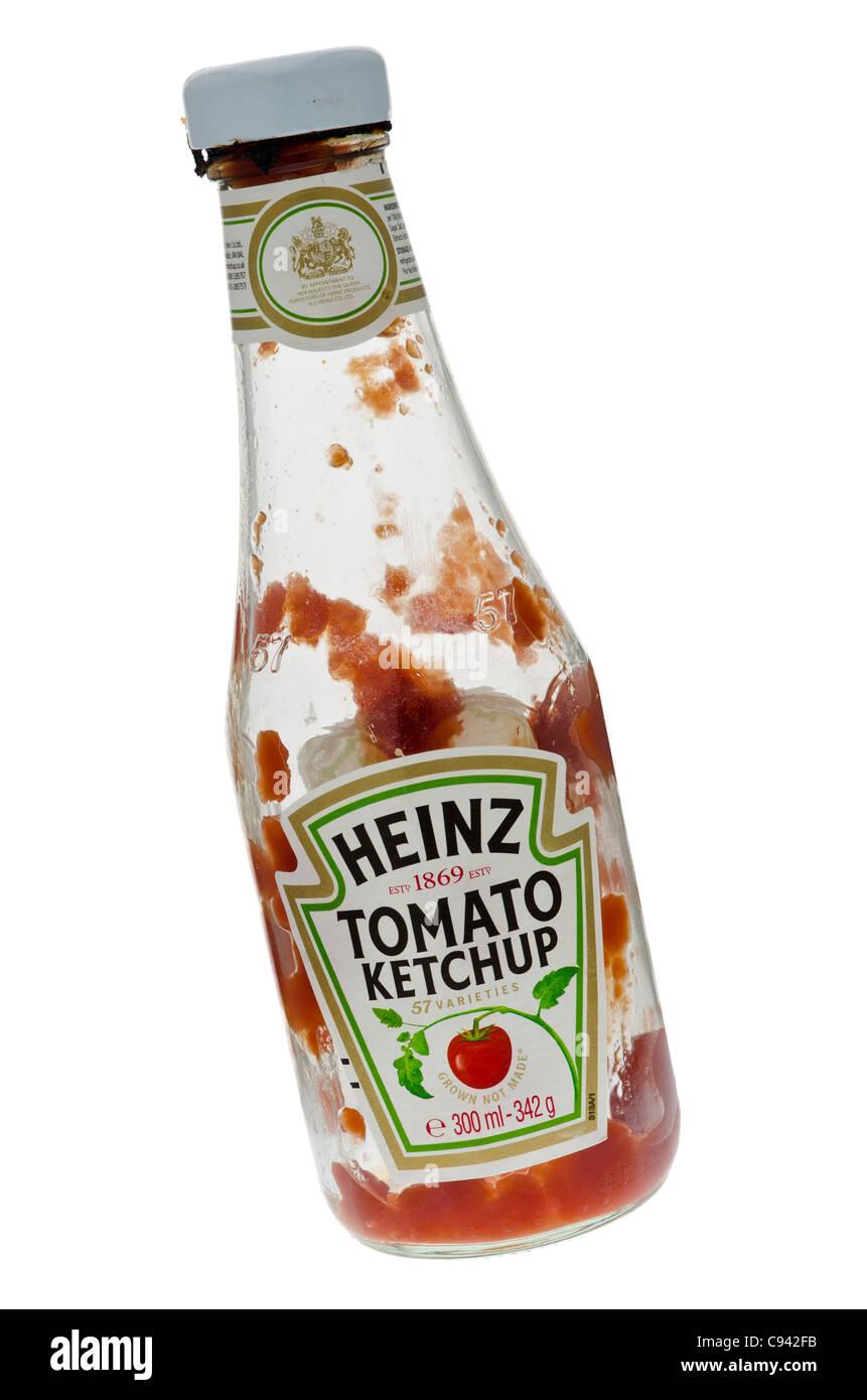 Heinz glass ketchup bottle