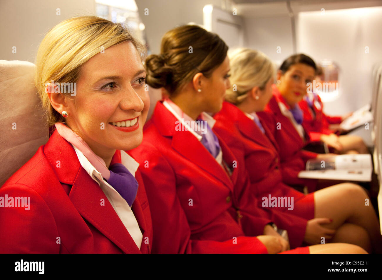 Virgin Atlantic Flight Attendant Training At The Base