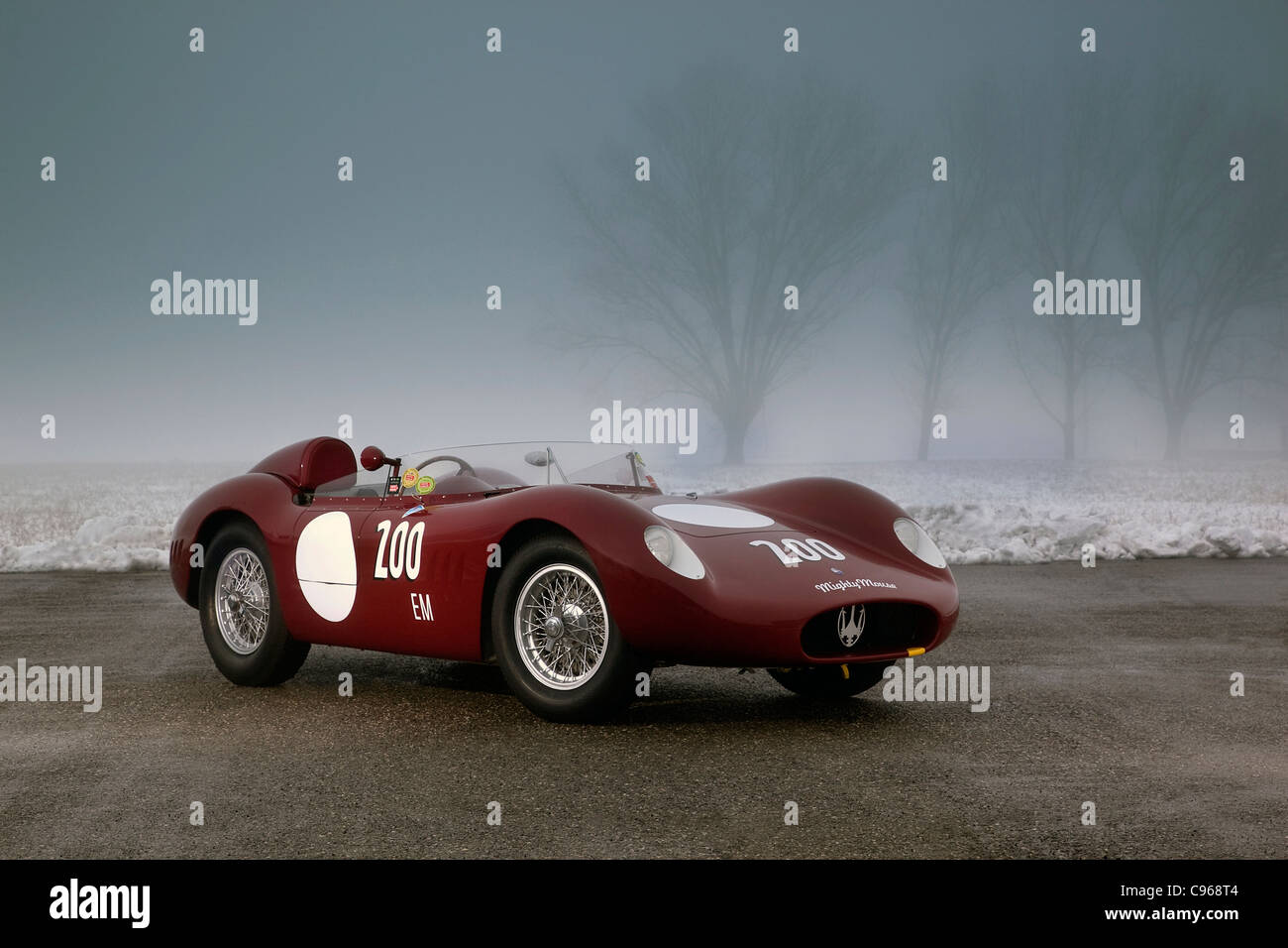 Maserati S Sports Racing Car Stock Photo Royalty Free