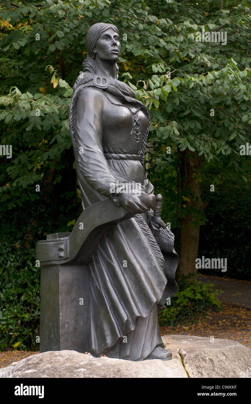 Statue Of Grace O Malley The Pirate At Westport House