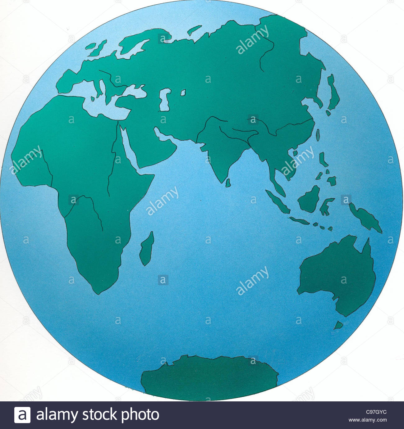 Globe Indian Ocean Globe Earth Globe Geography Globe Globe World - Globe map of the world