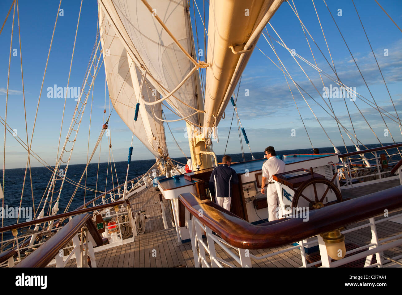 Bridge Of Sailing Cruiseship Star Flyer Star Clippers Cruises - Star clipper cruises