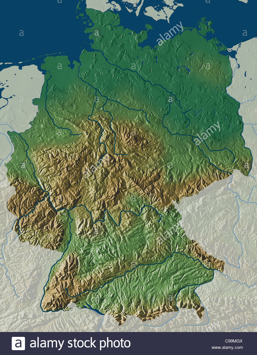 Map Germany Maps Map Software Cartography Cartography Continent - Germany maps
