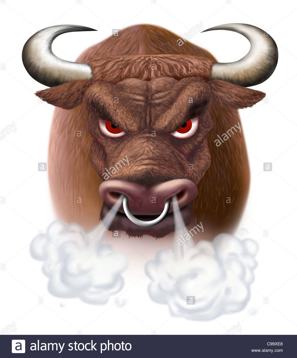 Bull Taurus attack Nstern Stock market Taurus Bulls taurus ...
