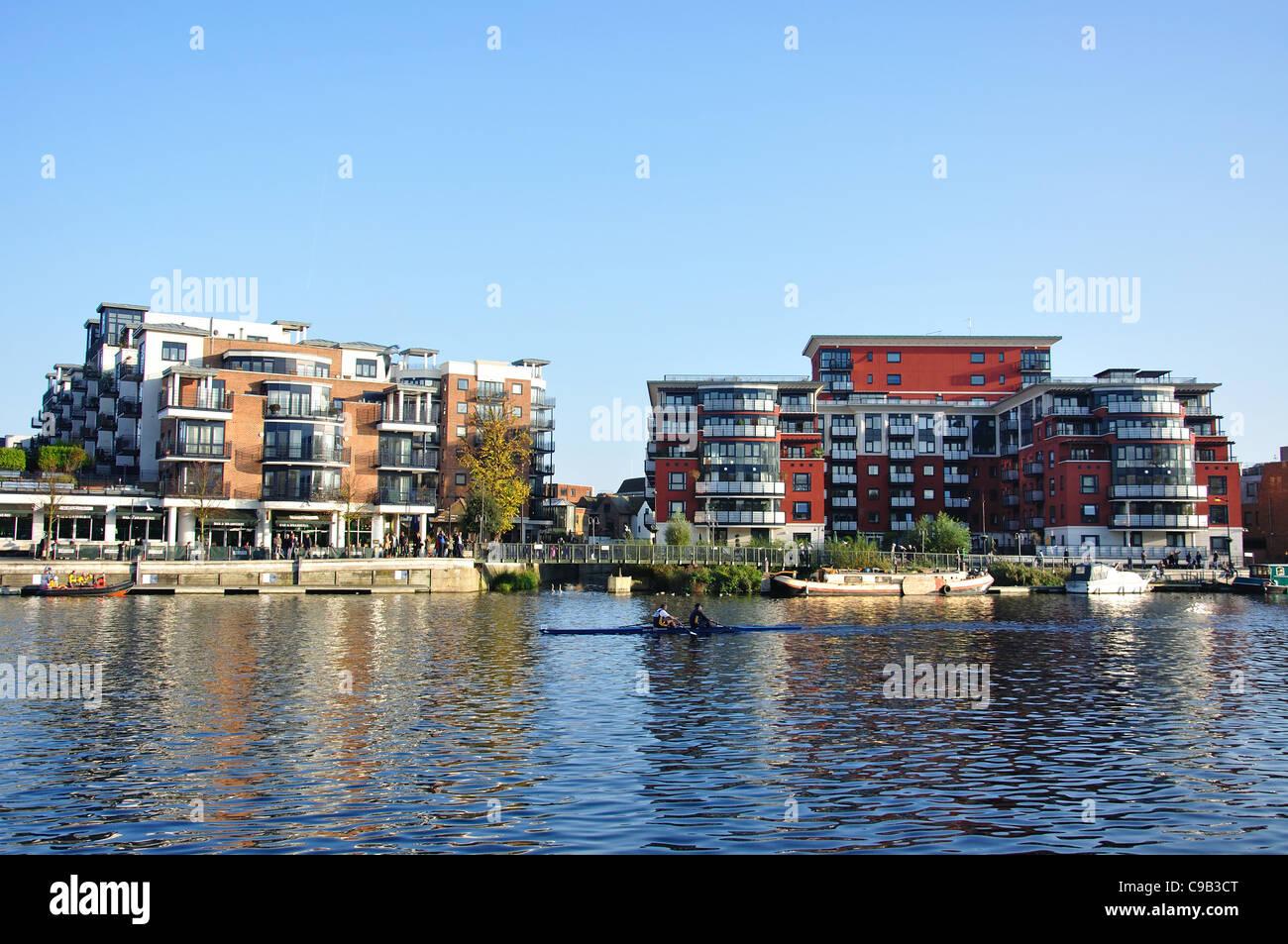 Riverside Apartments, Kingston Upon Thames, Royal Borough Of Kingston Upon  Thames, Greater London, England, United Kingdom