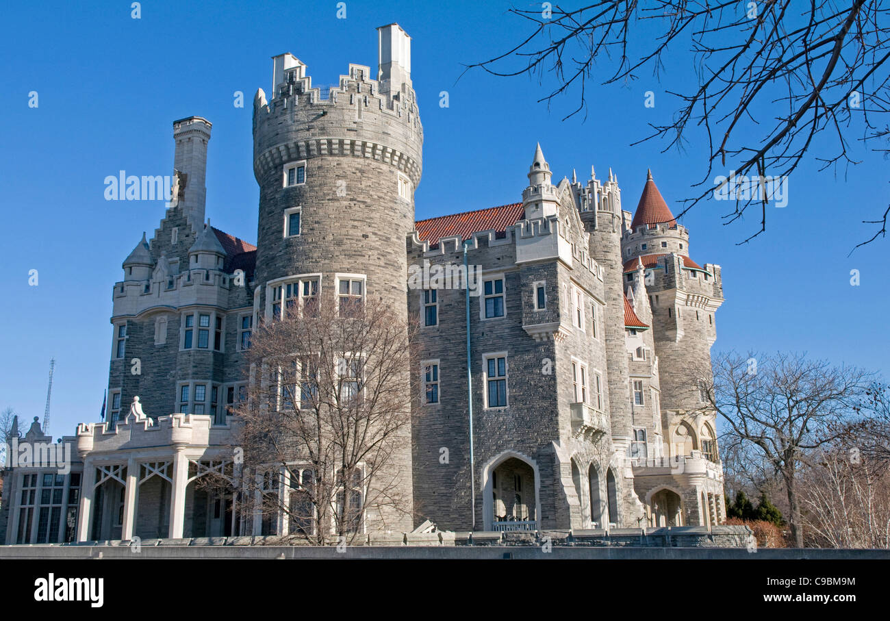 Canada north america ontario toronto casa loma mansion for Casa loma mansion toronto