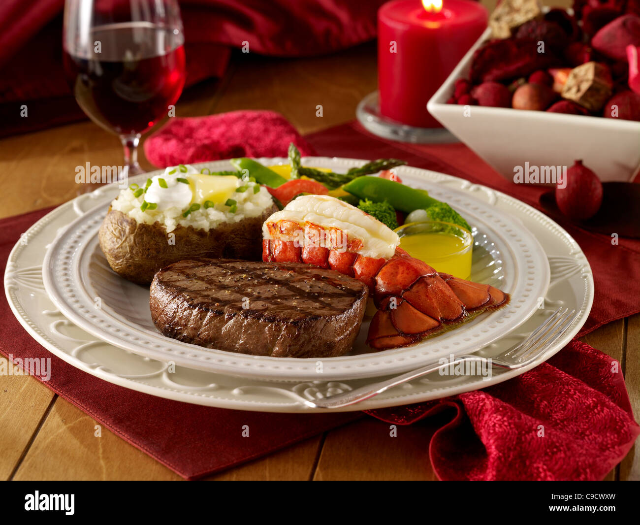 Gourmet Steak And Lobster Dinner | www.pixshark.com - Images Galleries With A Bite!