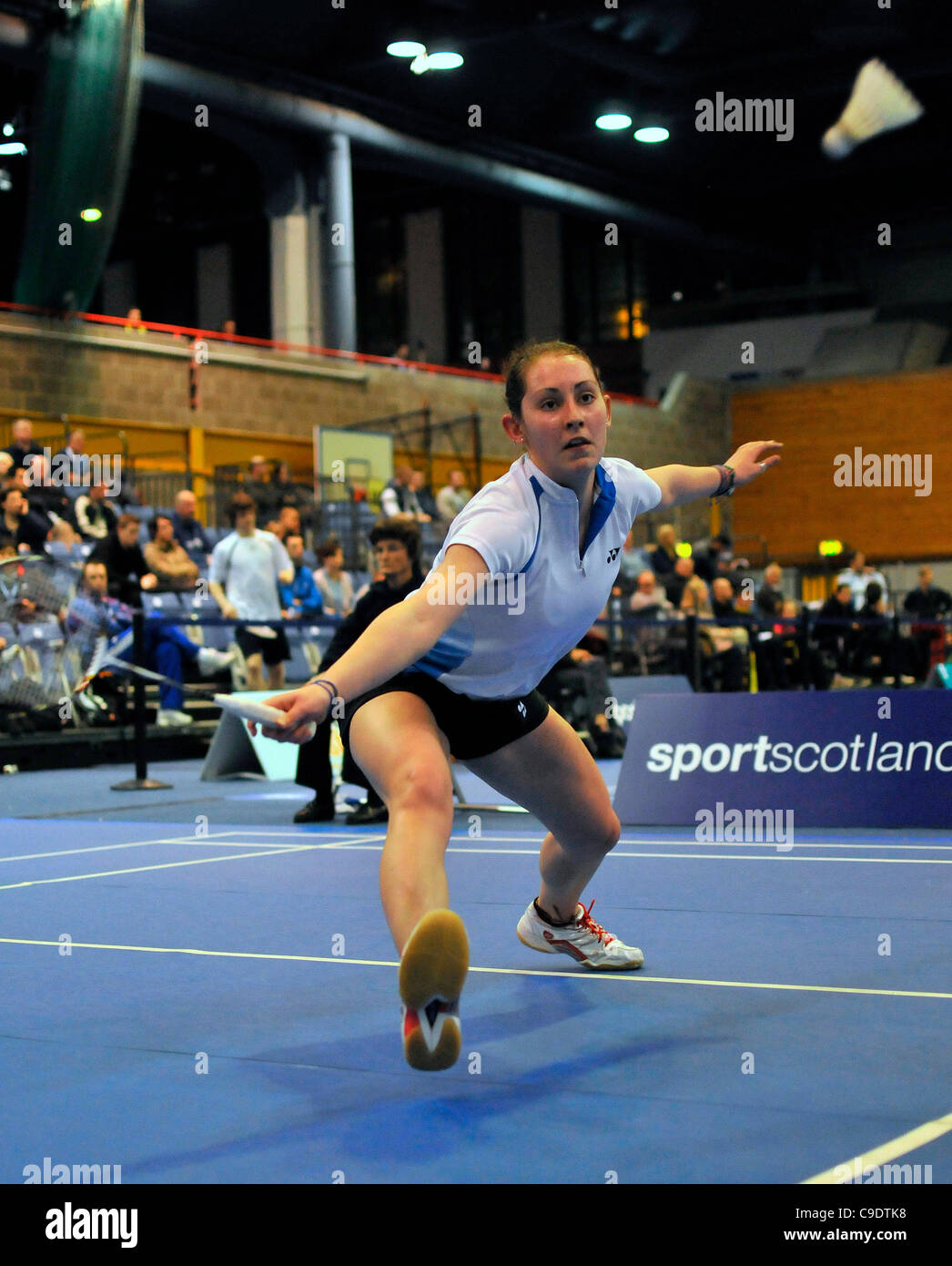 24 11 2011 Scottish International Badminton Championships from the