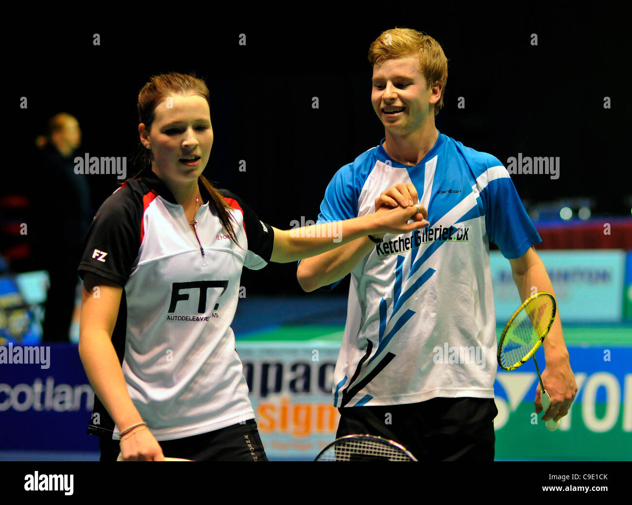 27 11 2011 Glasgow Scotland Scottish International Badminton