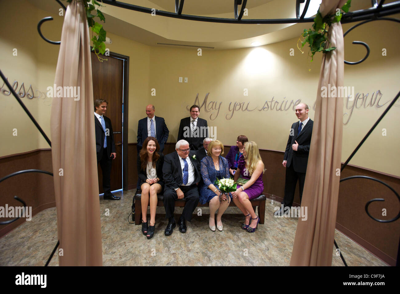 Elizabeth field is married to harold at the orange county stock photo royalty free image - Orange county clerk s office ...