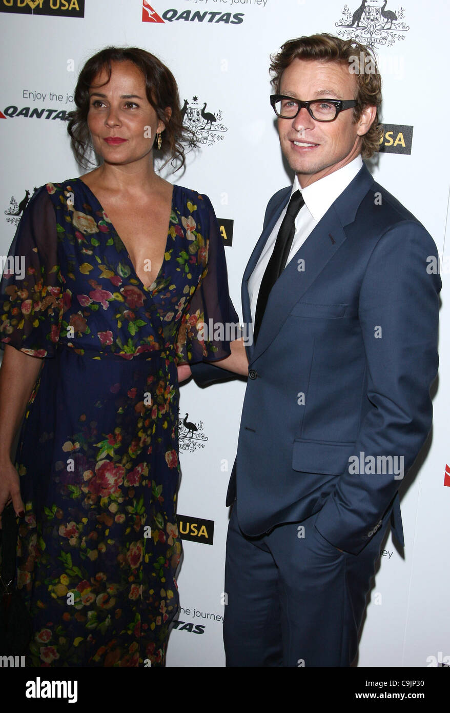 Rebecca Riggs And Simon Baker | www.imgkid.com - The Image ...