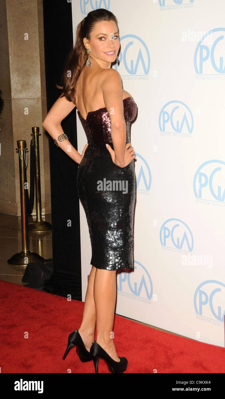 sofia vergara in attendance for 23rd annual producers guild of america pga awards the beverly hilton hotel los angeles ca january 21