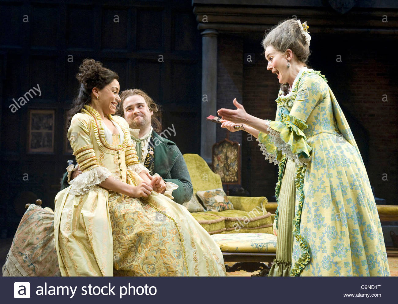 a critique of the play she stoops to conquer by oliver goldsmith Goldsmith's financial windfall from the history of england was followed by another success, the staging of his play she stoops to conquer at covent garden in march 1773 despite being performed at the end of the season, the play was an immediate critical and popular triumph and was brought back for the fall season.