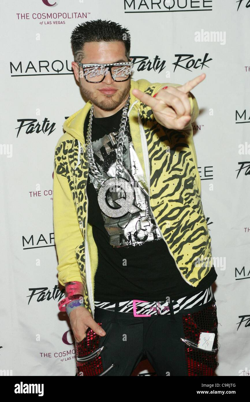 Q of The Party Rock Crew at arrivals for Party Rock Mondays with Redfoo at  MARQUEE