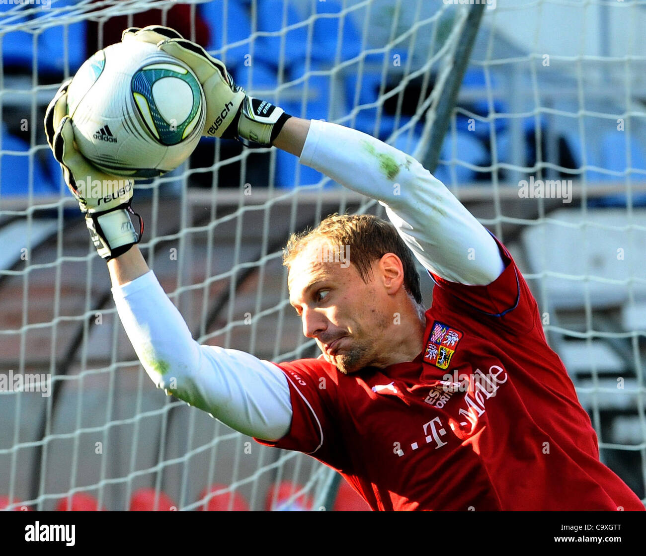FILE PHOTO Jaroslav Drobny Czech soccer goalkeeper and current