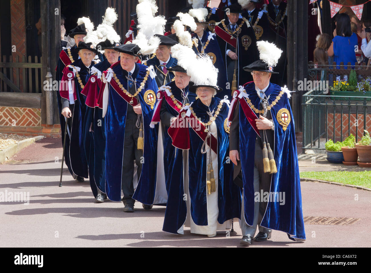 Knights Of The Garter Stock Photos & Knights Of The Garter Stock ...