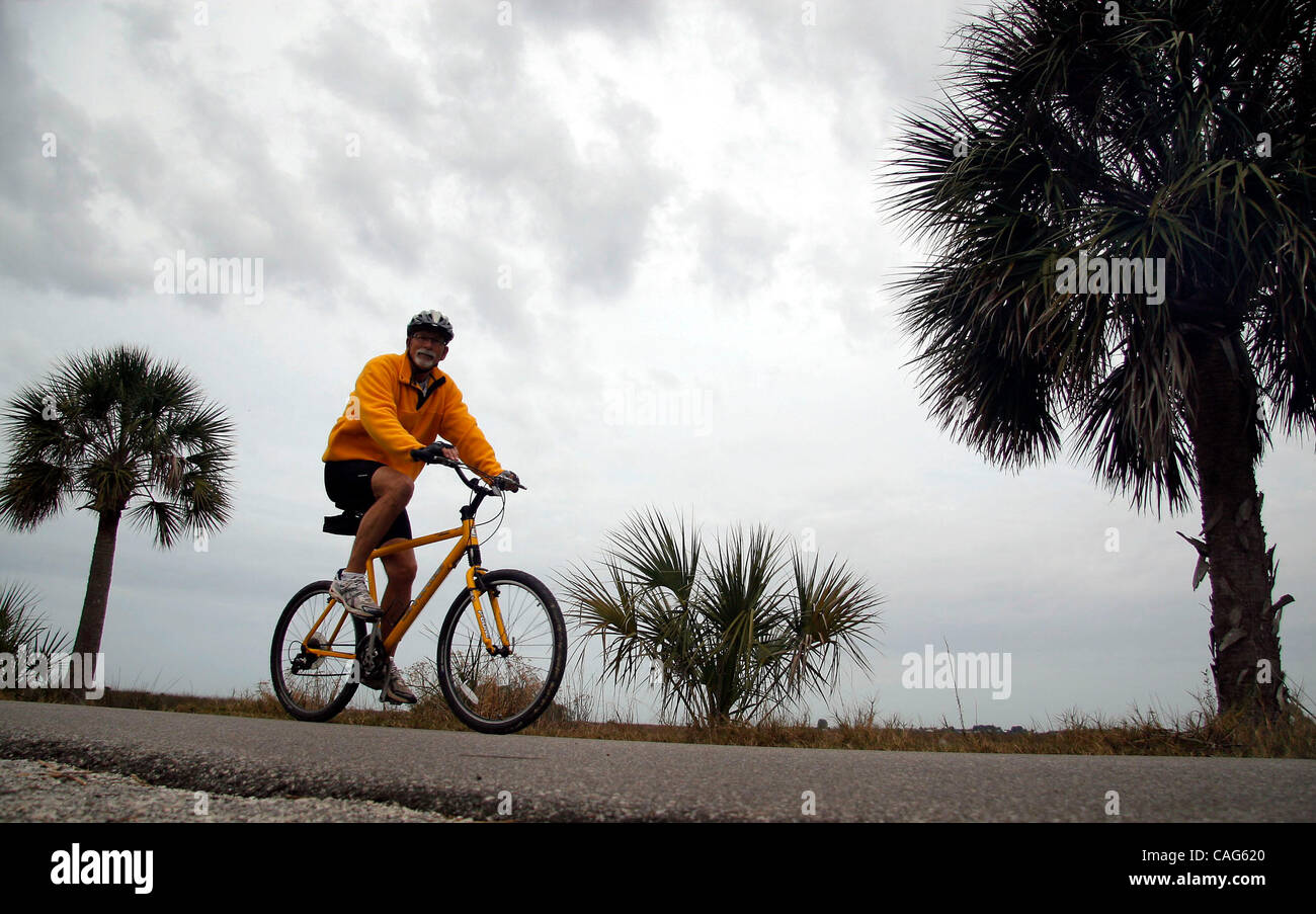 roger eppley of pine island takes a bike ride along bayou dr in roger eppley of pine island takes a bike ride along bayou dr in bayport tuesday