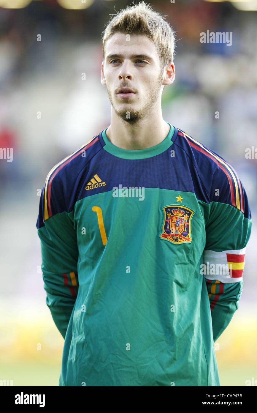 David de Gea ESP SEPTEMBER 05 2011 Football Soccer UEFA